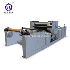 Polyethylene Film Automatic Embossing Machine With Oil Heating SLYW-1350