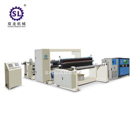 SLYW-1150 PVC Film Embossing Machine with Oil Heating and Chiller
